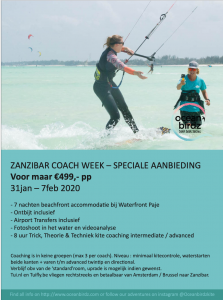 aanbieding Zanzibar coachings camp